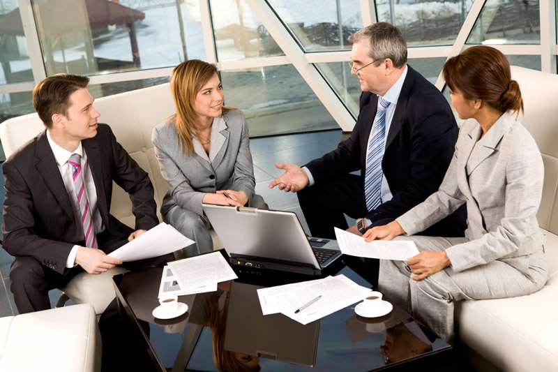 consulting services, group meeting